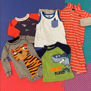 5PCS Bundle Kids Boys Clothes 12-18MOS